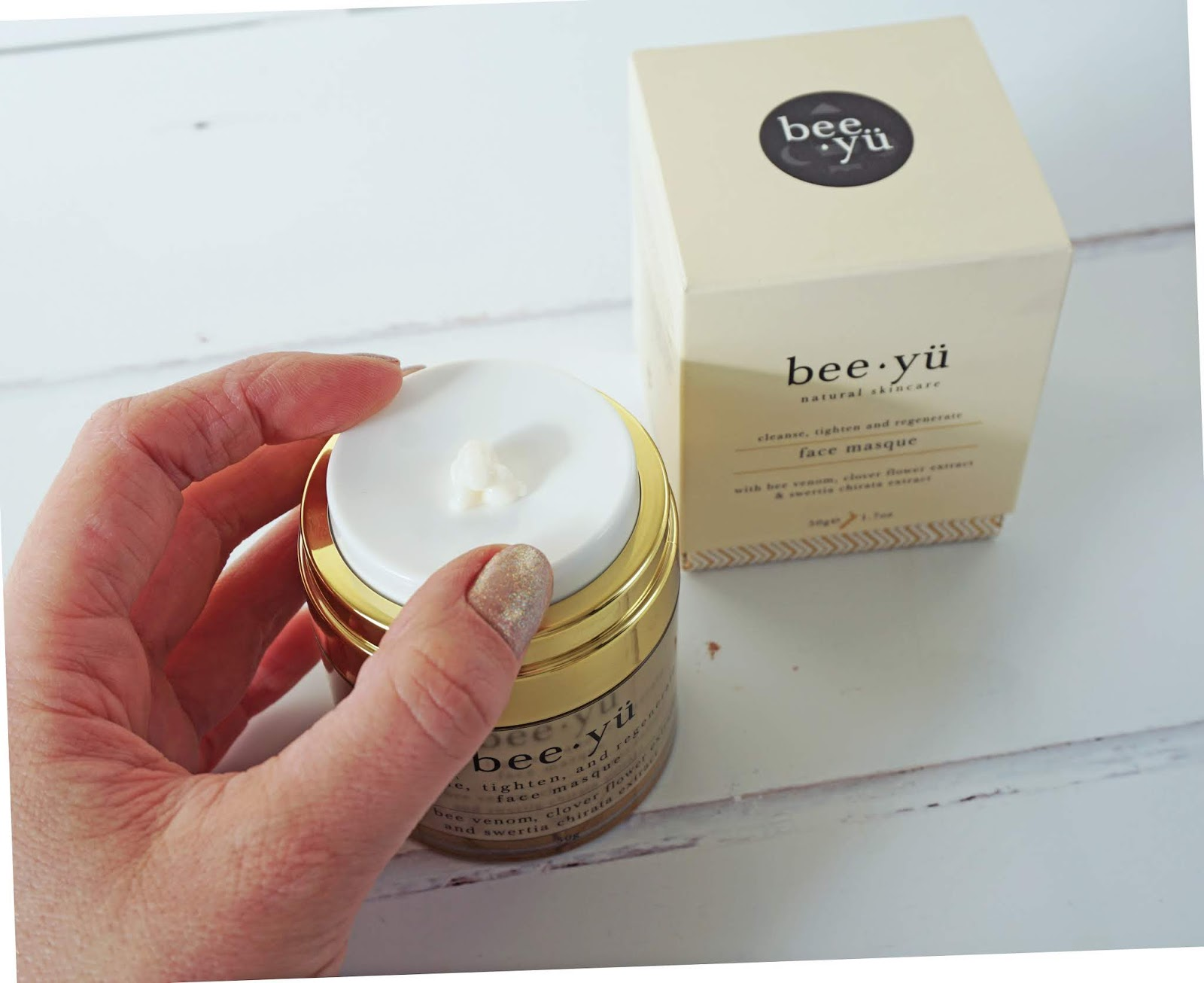 BEE YÜ FIRMING + REGENERATING FACE MASQUE