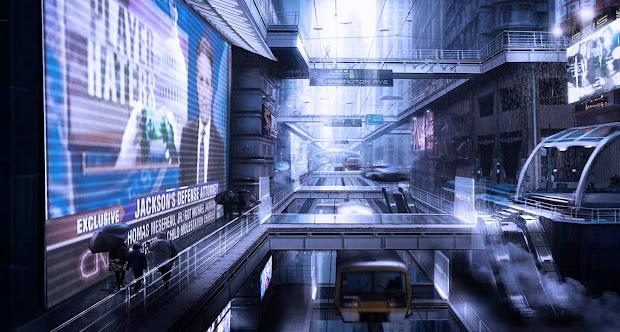 Dsng' Sci Fi Megaverse Buildings And Futuristic