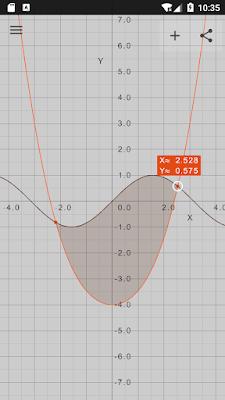 تطبيق حل المعادلات الرياضية وتمثيلها مبيانيا Visual Math 4D للأندرويد