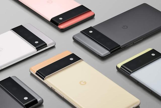 Google Pixel 6 Specs : Camera
