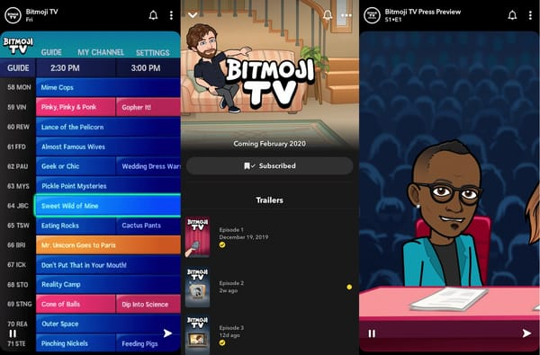 Snapchat launches an animated series from Bitmoji TV you are a hero