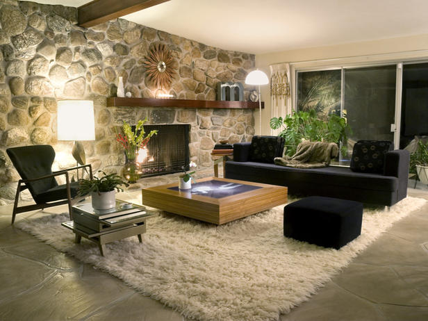 Modern Furniture: 2012 Living Room Design Styles From HGTV