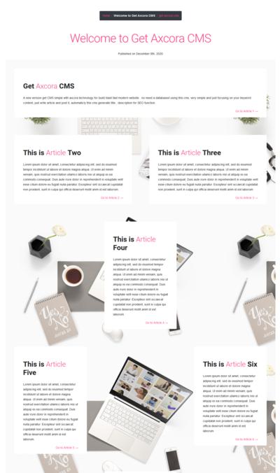 pembuatan website magazine murah