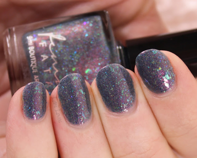 Femme Fatale Cosmetics Duskwood Nail Polish Swatches & Review