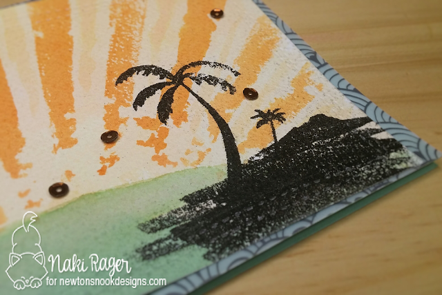Newton's Nook Designs Paradise Palms Set - Naki Rager