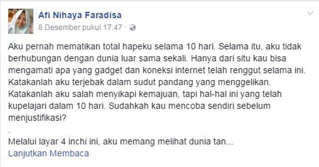 Afi Nihaya Faridisa
