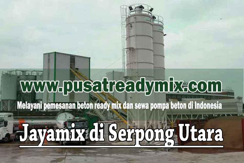Harga Beton Jayamix Serpong Utara Tangerang Selatan 2020