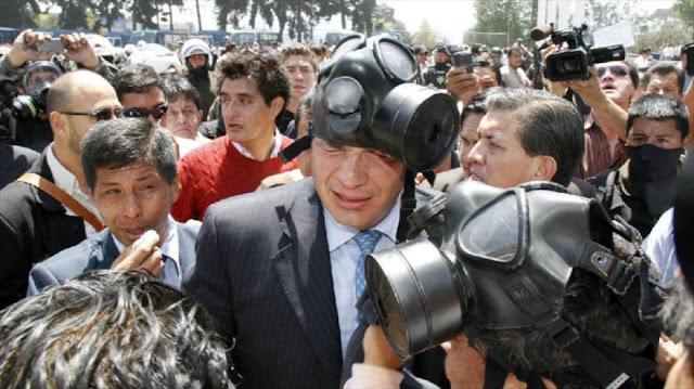 Policía de Ecuador ante Justicia por posible secuestro de Correa