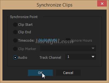 cara menyesuaikan audio dengan video di adobe premiere