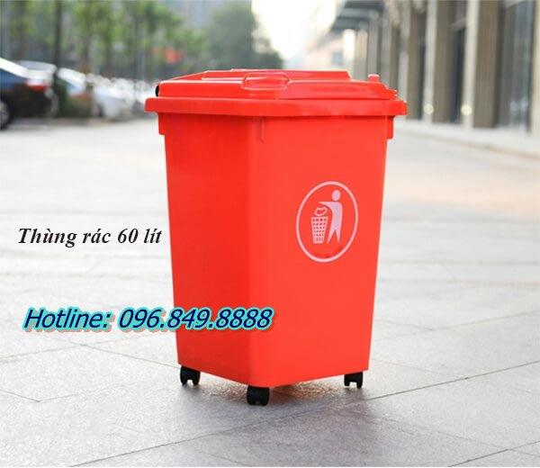 Giá thùng rác 60 lít là bao nhiêu?