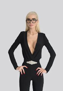 Mitiliane Couture - Дамска Блуза с изрязано деколте