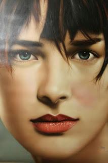 hiperrealistas-retratos-lindas-chicas pinturas-rostros-mujeres
