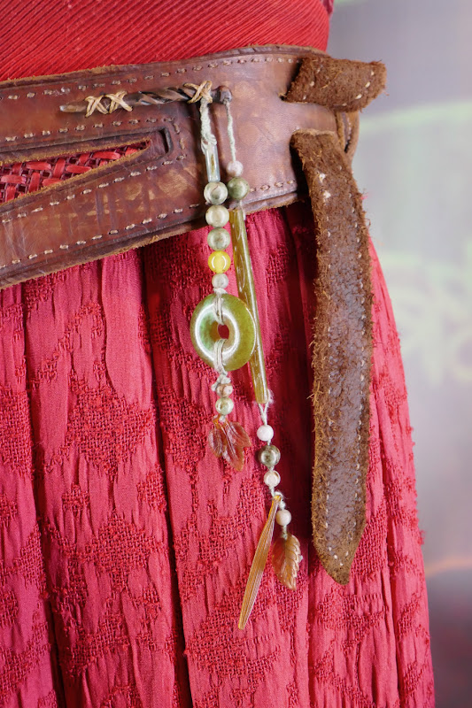 Shang-Chi Katy belt costume detail