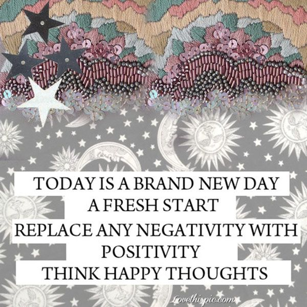 Inspirational Day Quotes: Inspirational Picture Quotes...: Today Is A Brand New Day
