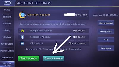 Cara Cepat Bikin Account Baru Mobile Legend