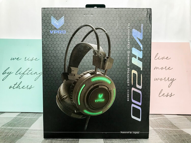Rapoo VPro VH200 Review; Gaming Headset on a Budget