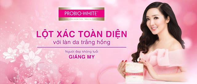 Dưỡng trắng da dễ dàng với thuốc uống Probio White