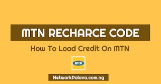 mtn recharge code
