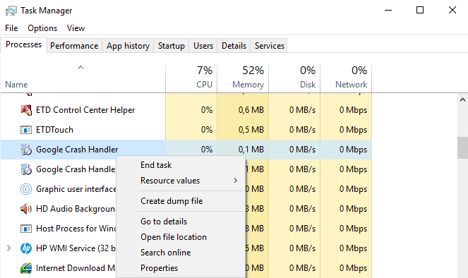 Cara Mengatasi Disk Usage 100% di Windows 10 - Task Manager