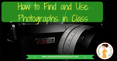 Tips for places to find photographs for classroom use, as well as ideas for project and classroom uses