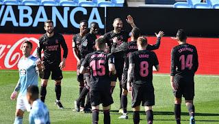 ملخص واهداف مباراة ريال مدريد وسيلتا فيجو (3-1) الدوري الاسباني