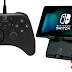 Vazam imagens de acessórios para Nintendo Switch fabricados pela Hori.