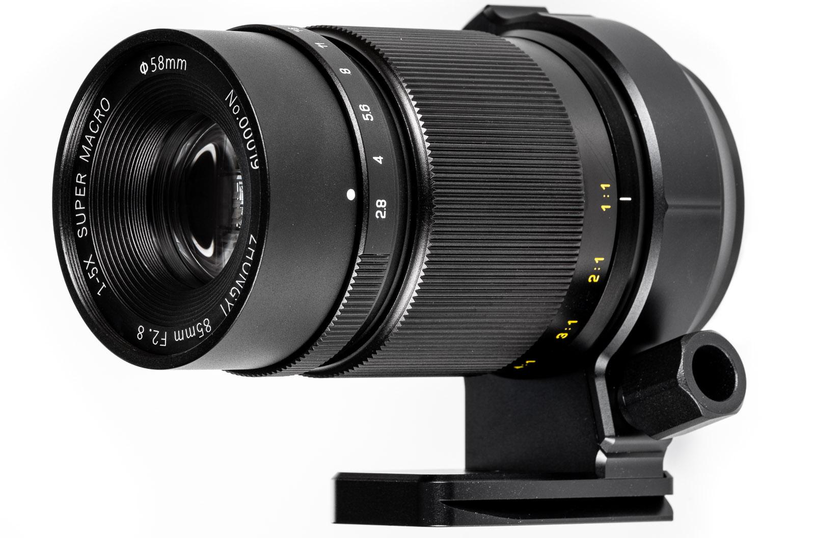 Mitakon Creator 85mm f/2.8 1-5X Super Macro