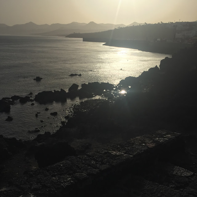 Lanzarote holiday diary part one - Puerto Del Carmen old town view