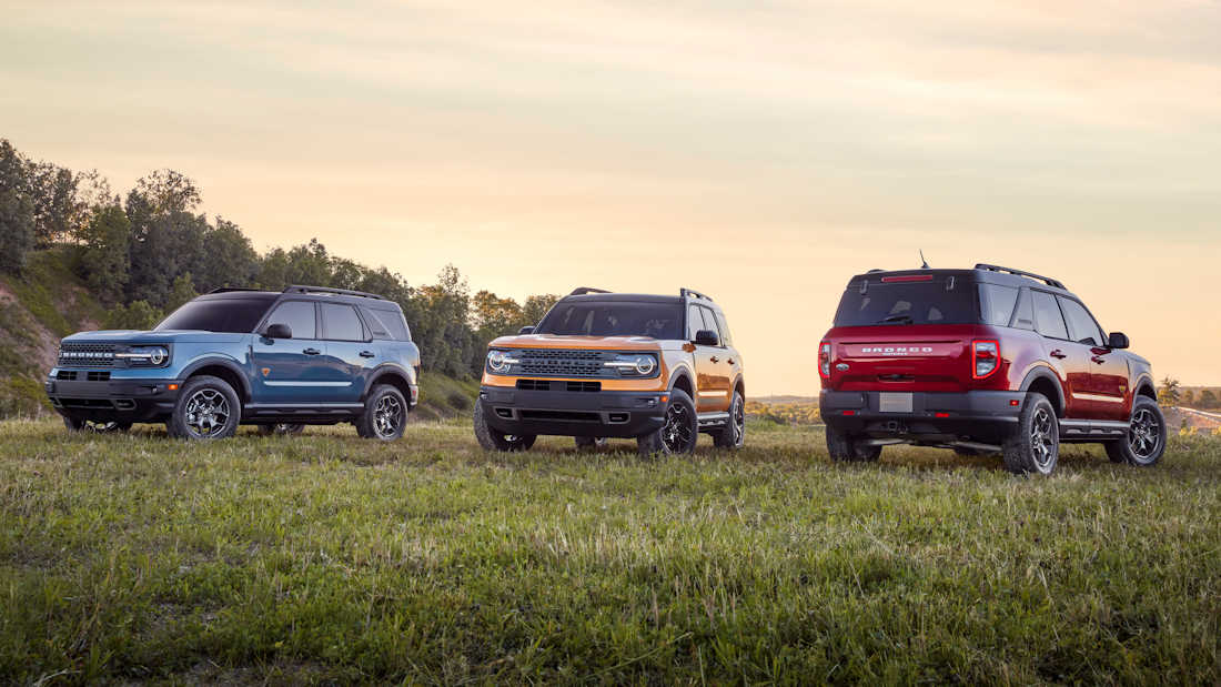 The 2021 Ford Bronco Sport Is Ready To Take The Subaru Xv S Lunch
