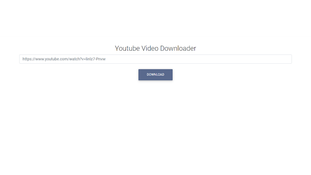 How to Make Your Own Youtube Video Downloader Using Express js and ytdl ..........