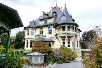 Ailleurs : Villa Demoiselle à Reims, perle architecturale de la Maison Vranken-Pommery-Monopole, incarnation du glissement stylistique entre Art Nouveau et Art Déco