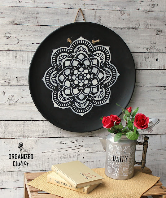 More TWICE Upcycled Thrift Shop Purchases #mandala #bohodecor
