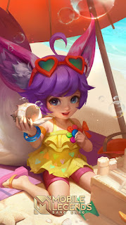 Nana Sundress Heroes Support Mage of Skins