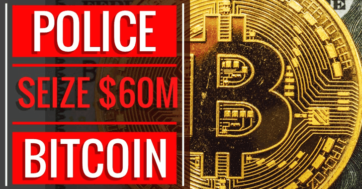 Police Seize $60 Million of Bitcoin That Generated Via Installing Malware But Fraudster Refused to Say Password