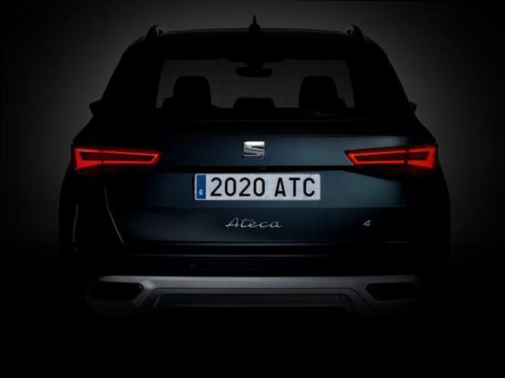 SUV Ateca bản cập nhật 2021 sắp được trình làng