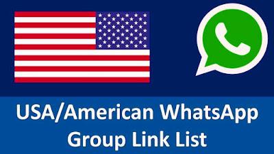 USA WhatsApp group links