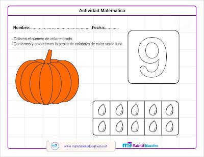 Actividades Matemáticas Contando los Números