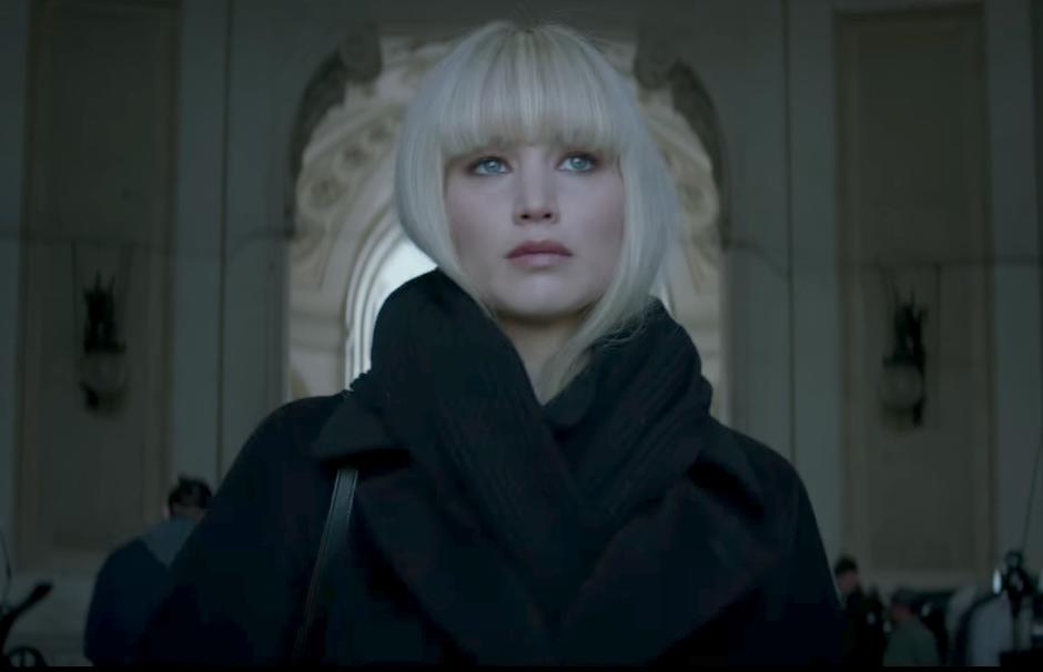 """Trailer de """"Operação Red Sparrow"""" apresenta Jennifer Lawrence como uma espiã"""
