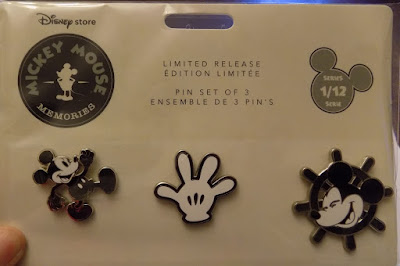 Disney Store Mickey Memories Pin collection