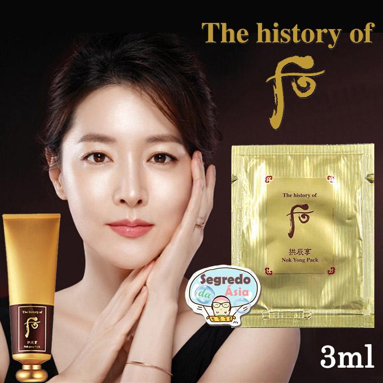 Mascara Facial Coreana Esquenta Aquece Detox Rejuvenesce The History
