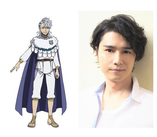 Shouma Yamamto como Solid Silva, hermano mayor de Noelle y miembro de las Águilas Plateadas.