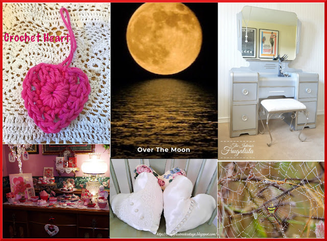 Over The Moon Linky Party. Share NOW. 2 hostesses - 5 features. #linkyparty #OTM #eclecticredbarn #marilyntreats #overthemoon
