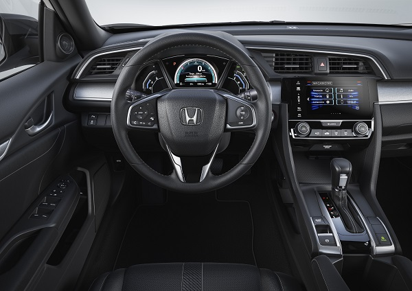 Interior Honda Civic EXT CVT