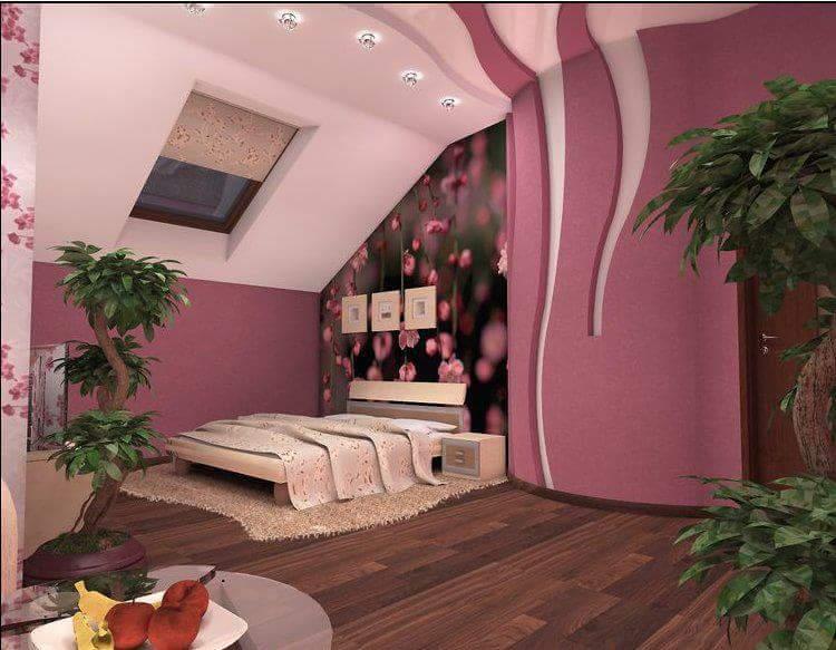 اجمل الوان غرف نوم للعرسان