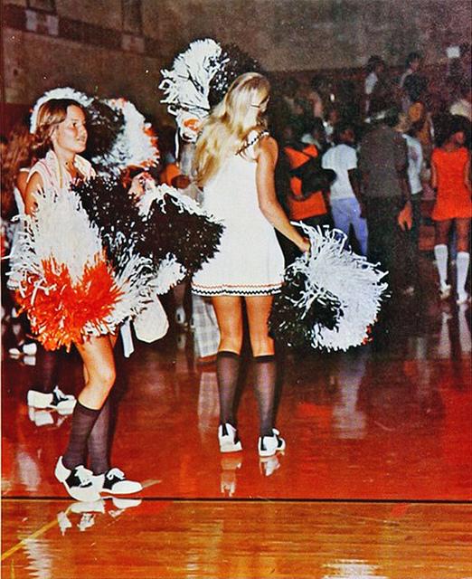 Cheerleaders From 1966 67 Vintage Everyday