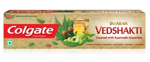 , FREE COLGATE VEDSHAKTI TOOTHPASTE FROM COLGATE