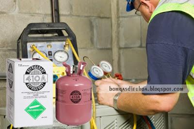 Nạp gas điều hòa R410
