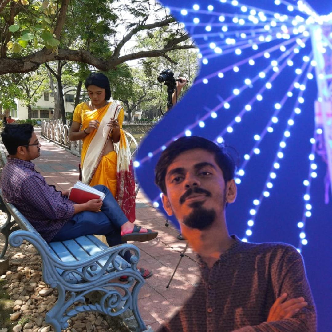 কলকাতা আন্তর্জাতিক চলচ্চিত্র উৎসবে 'তৃতীয় মাঠে'র খোঁজে আইআইটি খড়গপুরের শাওন 5