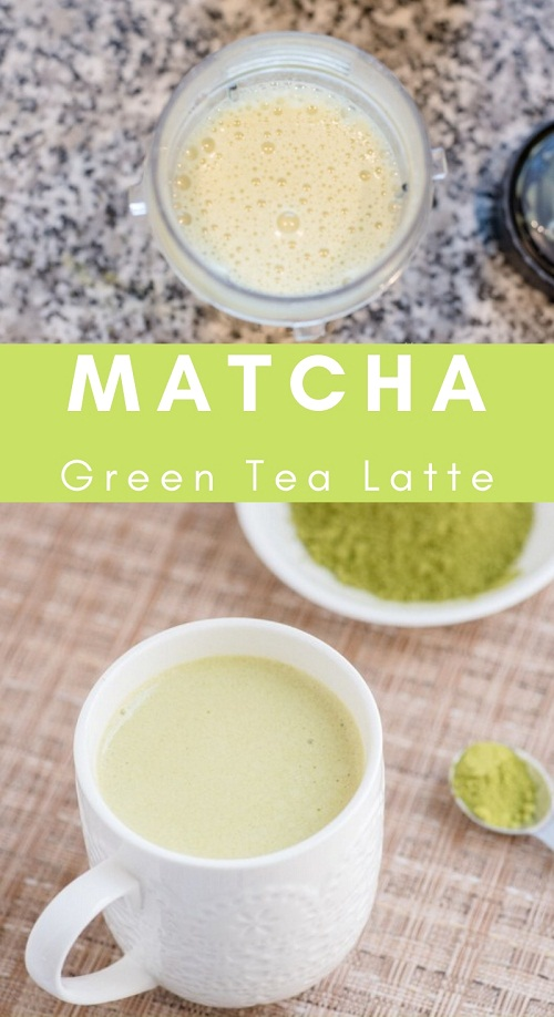 Easy Matcha Green Tea Latte