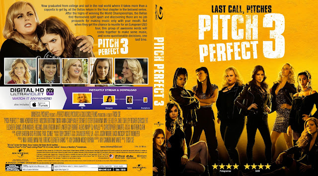 Pitch Perfect 3 Bluray Cover